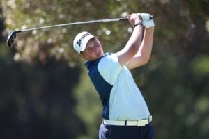 Aden Senger of South Africa during Day 1 of the Curro SA Juniors International held at the Durbanville Golf Club in Cape Town, South Africa on 6th March 2017.  Photo by Shaun Roy/ImageSA