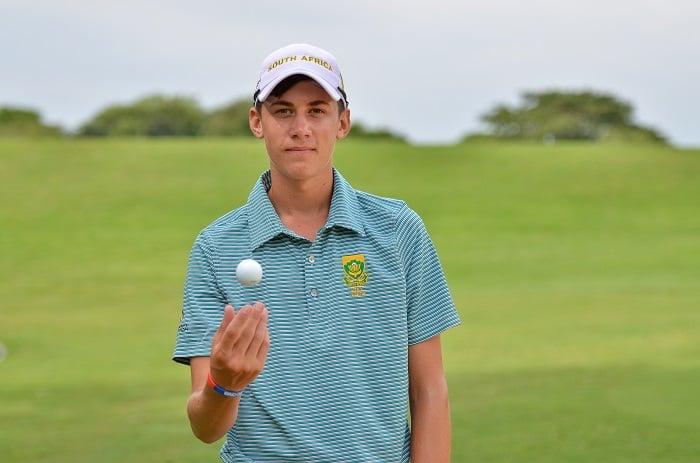Sam Simpson to join GolfRSA National squad