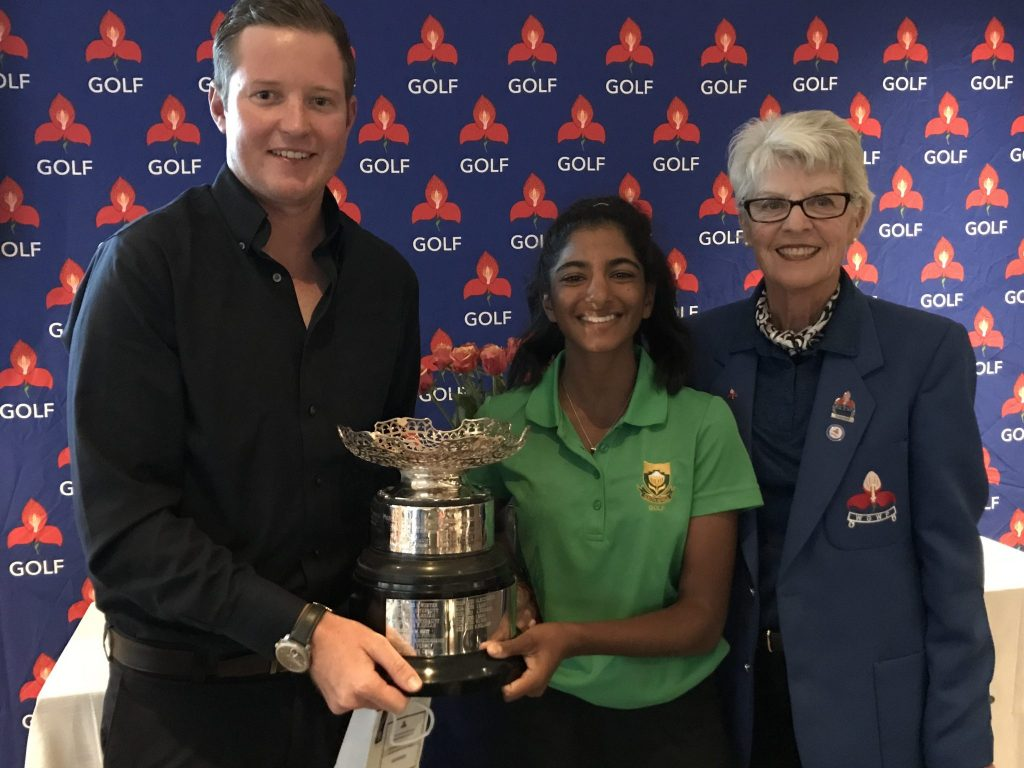Moodley wins Edith Bowie Trophy at Clovelly