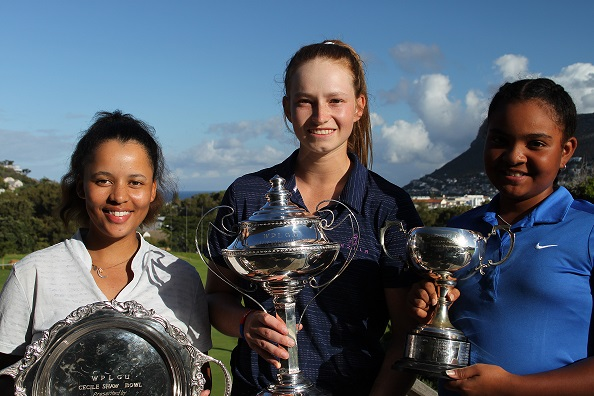 Annalie Swanepoel takes her first title