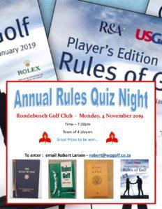 2019 Rules Quiz Poster 4 November