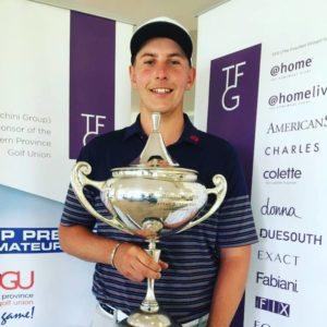Ayden Senger - Durbanville Open Winner - 2019