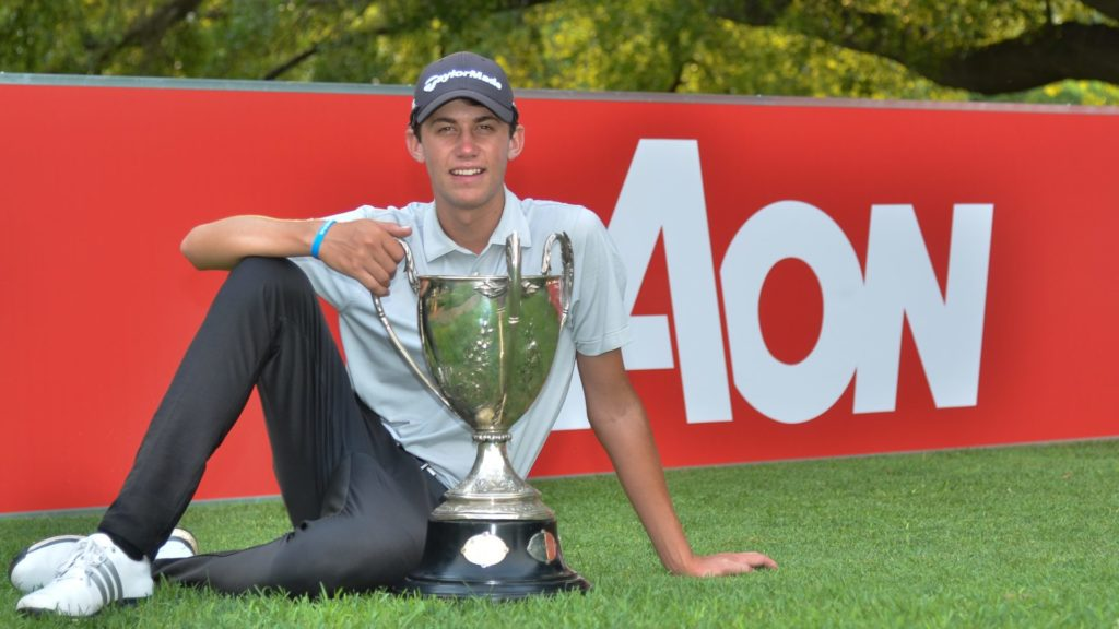 Sam Simpson adds Proudfoot Trophy to CV