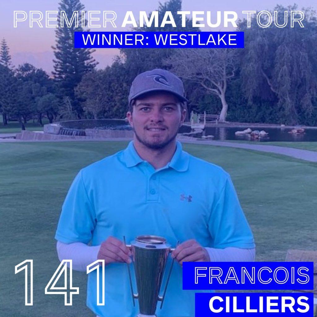 Francois Cilliers Winner Westlake
