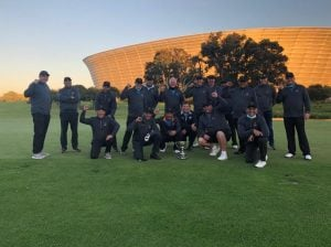 Winning Team for 2021 - Kuils River Golf Club
